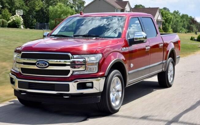 A Ford F-150 está entre as campeãs de vendas do mundo e pode ser equipado com um dos melhores motores a diesel