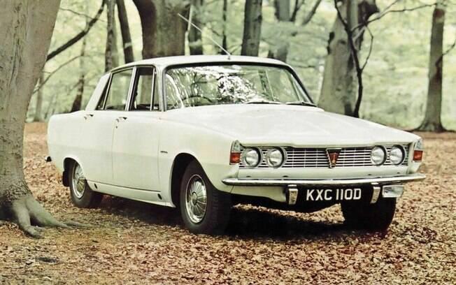 Rover P6 1964