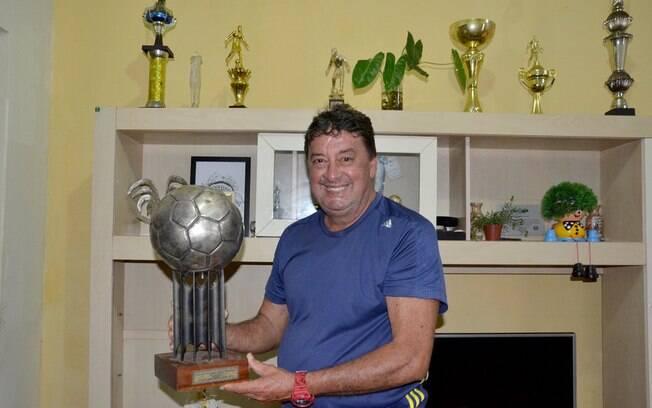 Cesar chegou à artilharia do Brasileiro de 1979 pelo América-RJ, com 13 gols