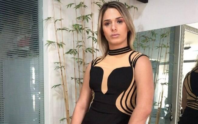 Glamour Garcia é acusada de agressão pelo ex, contra quem tem uma medida protetiva