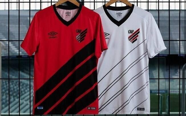 Nova identidade visual do Atlético-PR, que em 2019 será Club Athletico Paranaense