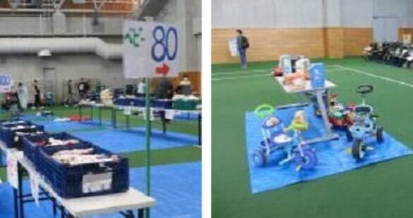 Cidade distribui roupas infantis e utensílios para bebês