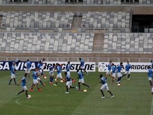 Cruzeiro fará os últimos ajustes no palco do compromisso deste domingo