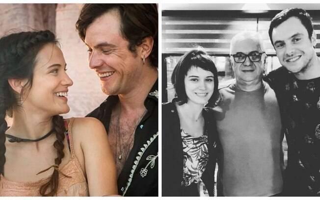 Mesmo sem assumir oficialmente, Sergio Guizé e Bianca Bin estão no maior clima de amor!
