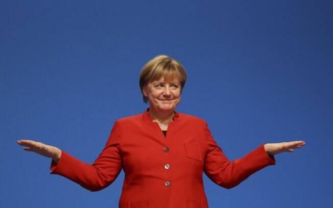 Angela Merkel foi eleita a mulher mais poderosa do mundo em 2017 pela sétima vez consecutiva