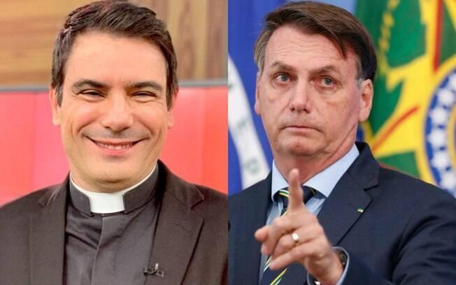 Padre Juarez de Castro e Bolsonaro
