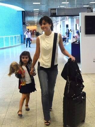 Luiza Valdetaro e a filha, Malu