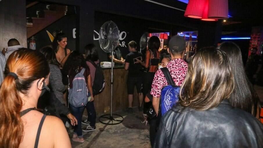 Evento tinha 55 pessoas e era realizado em Interlagos