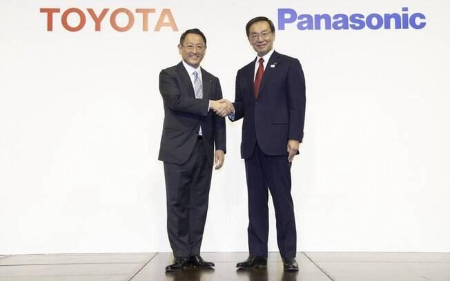 Toyota e Panasonic se unem para desenvolver novas baterias e outras tecnologias para carros elétricos