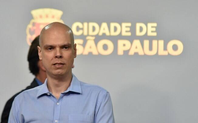 Bruno Covas, prefeito da cidade de São Paulo