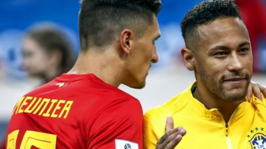 Meunier sai em defesa de Neymar