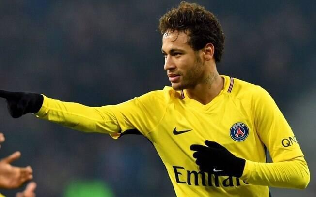 Neymar é jogador do PSG, mas seu nome é especulado no Real Madrid