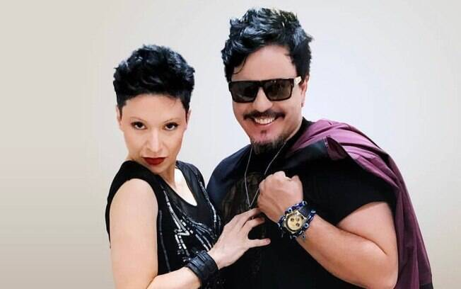 Patrícia Marx e Luciano Nassyn