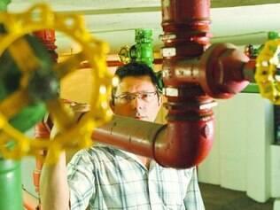 Solução. Alexandre Miguel Rodrigues criou mecanismo para evitar desperdício maior de água