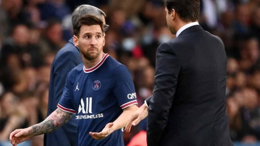 Messi deve ficar de fora de mais uma partida pelo PSG