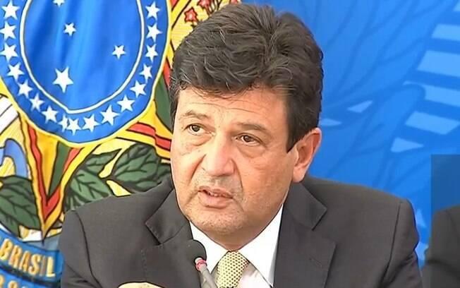 Mandetta anunciou medidas de combate ao coronavírus