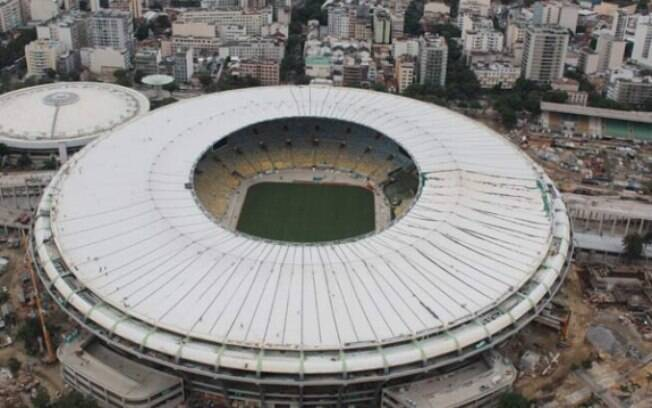 Cobertura do Maracanã fica pronta dentro do  cronograma