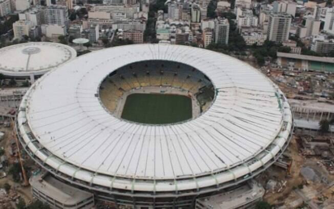 Cobertura do Maracanã fica pronta dentro do  cronograma