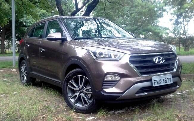 Hyundai Creta 2.0 topo de linha vem com filetes de LED nos faróis com refletores duplos entre os itens exclusivos
