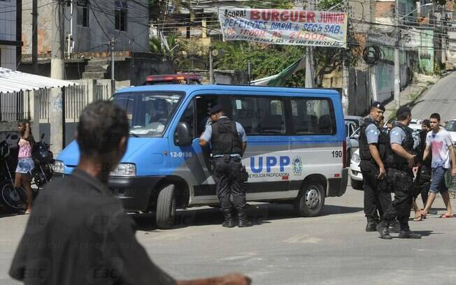 As Unidades de Polícia Pacificadora atuam em comunidades cariocas
