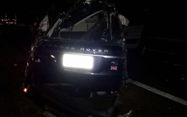 Acidente aconteceu entre as cidades de Goiatuba e Morrinhos, na BR-153. Foto: Divulgação/PRF