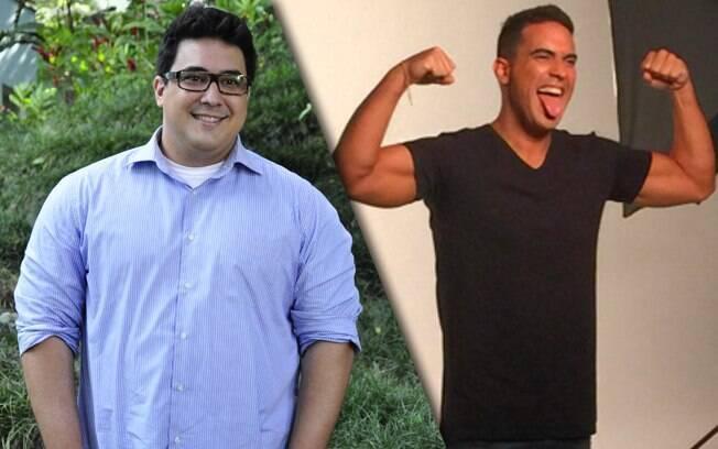 André Marques perdeu quase 71 quilos em um ano depois de fazer redução de estômago e malhar muito