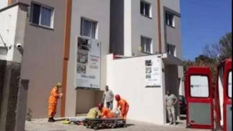 Operário caiu de uma altura de 20 metros