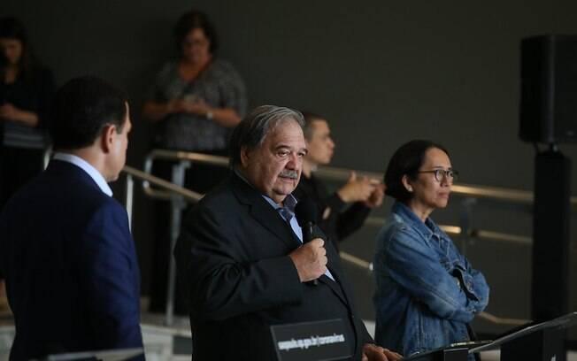 Secretário de Saúde do Estado de São Paulo, José Henrique Germann