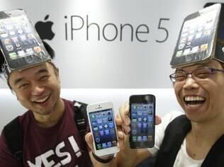 iPhone 5 é o produto mais procurado na busca do Yahoo! nos EUA