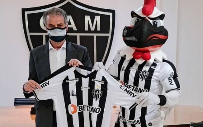 Atlético-MG anuncia novo patrocínio