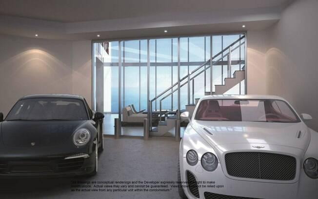 """Luxo em imóvel de Miami: """"Meu Porsche ficará na varanda do apartamento"""" - Lux..."""