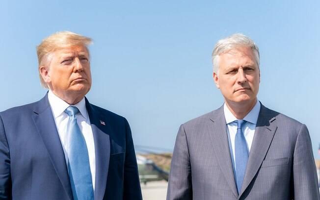 Segundo comunicado da Casa Branca, Trump não está em risco