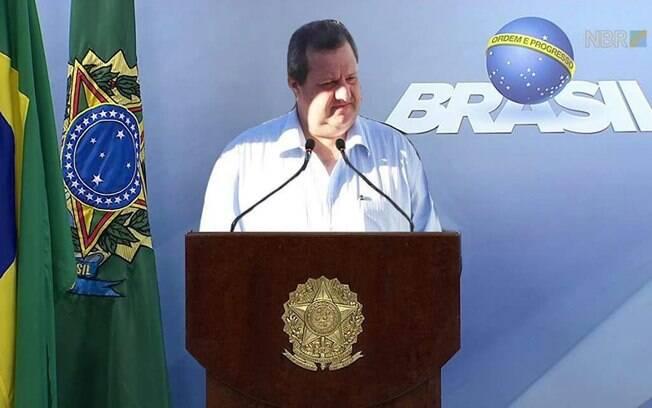 Montagem com o prefeito de Leme gerou uma série de memes