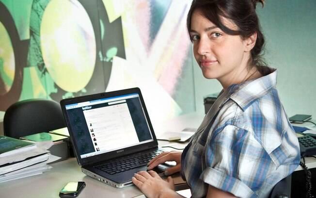 Bia Granja, editora da revista Pix e coordenadora de eventos: