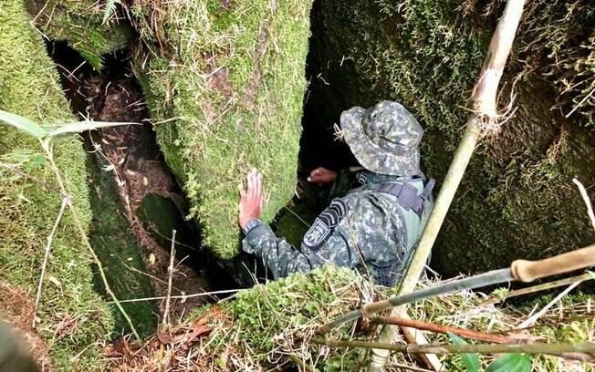 PMs do COE participaram das buscas pelo francês no Pico dos Marins