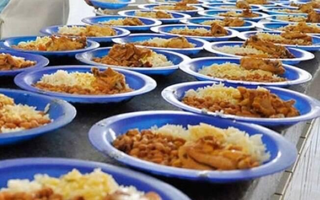 Escolas estaduais de Campinas oferecem merenda para estudantes