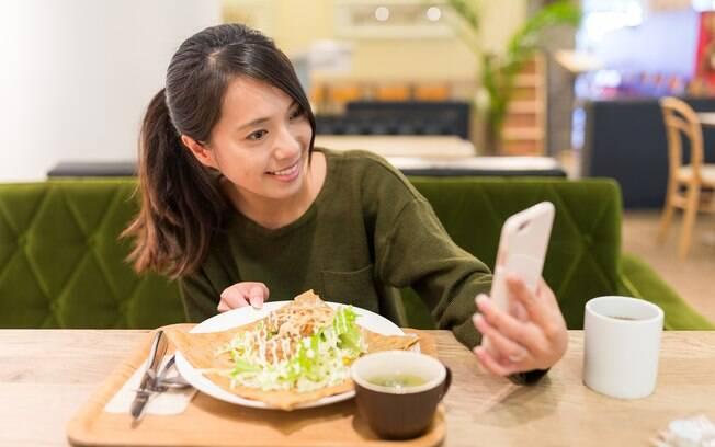 Segundo o estudo, quem publica fotos da dieta tem a intenção de mostrar que está se esforçando para obter resultado