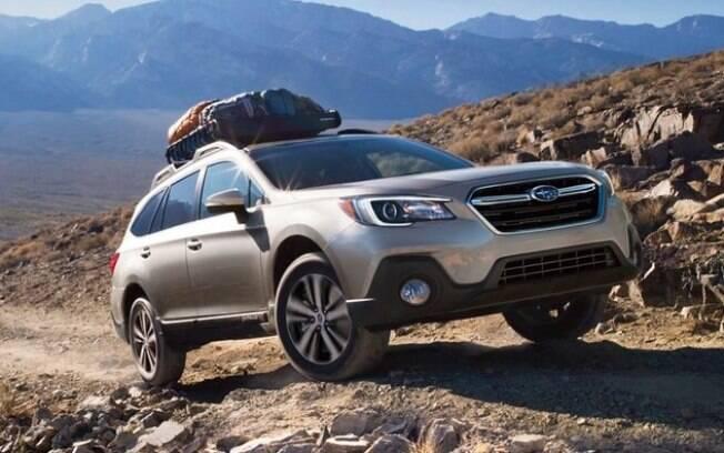 A Subaru Outback é um station wagon off-road da nova categoria de veículos deste segmento