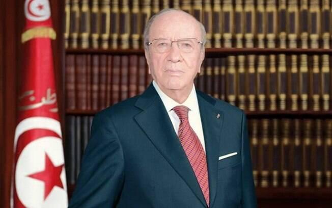 Beji Caid Essebsi teve uma