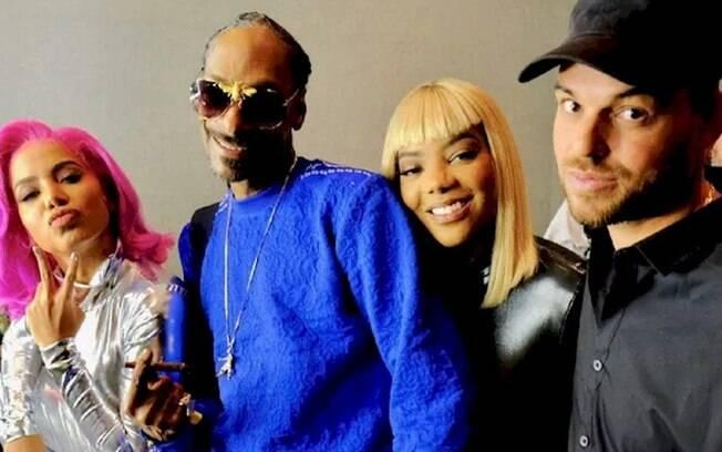 Ludmilla ignorada por Snoop Dogg?