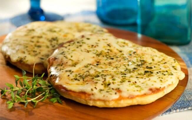 Foto da receita Pizza expressa pronta.
