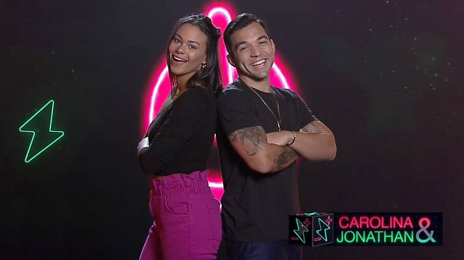 Jonathan (JonJon) e Carolina Santos estarão no