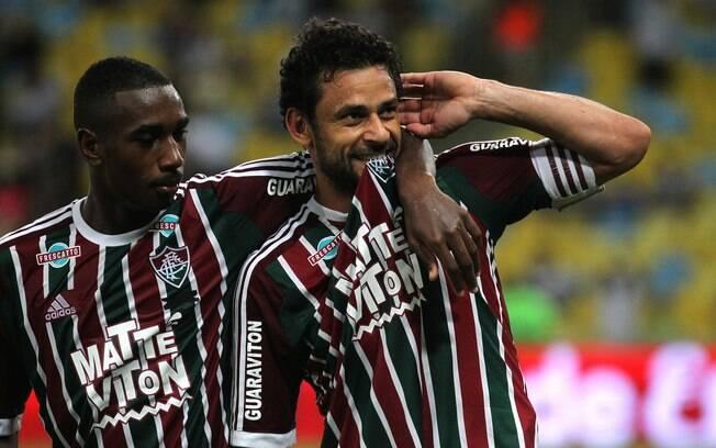 Fred marca para o Fluminense