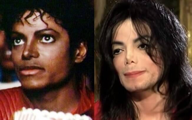 Michael Jackson mudou a cor da sua pele ao longo dos anos