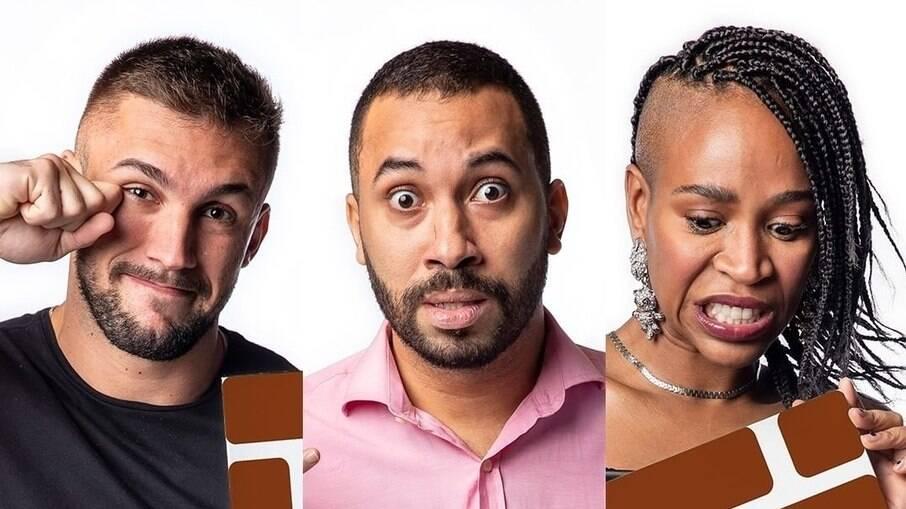 BBB 21: Arthur, Gilberto e Karol Conká