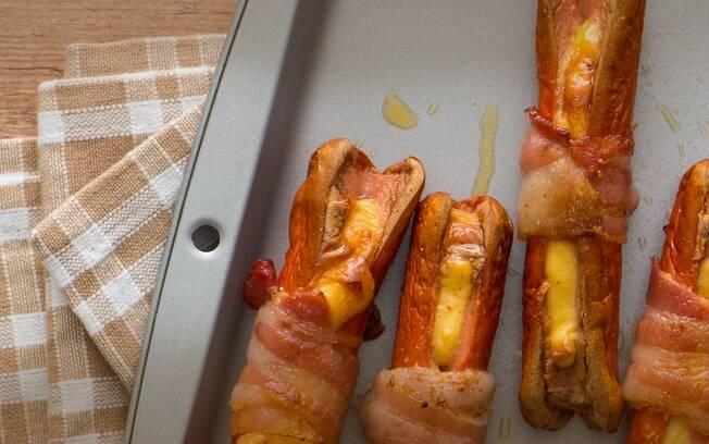 Queijo, bacon e salsicha: a união perfeita para as crianças