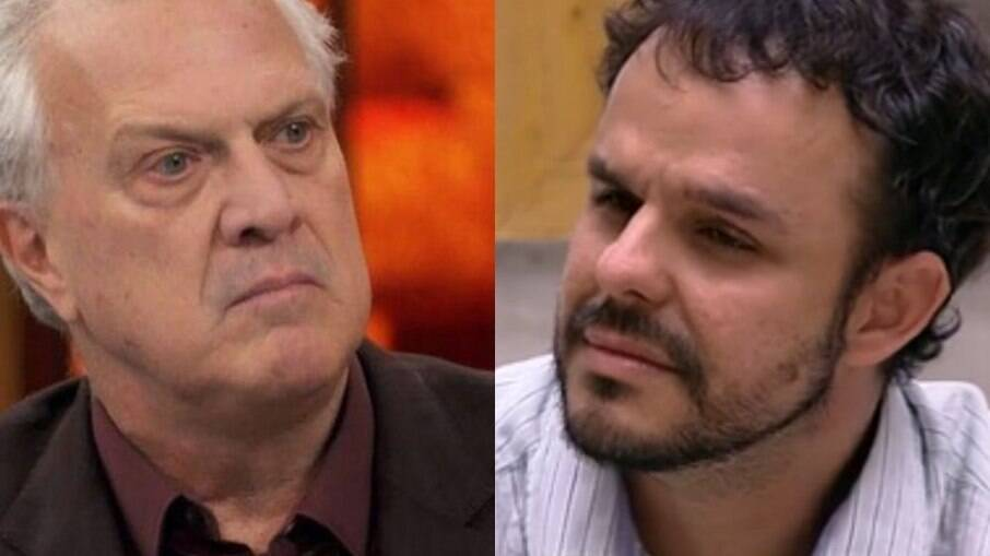 Pedro Bial e Adrilles Jorge