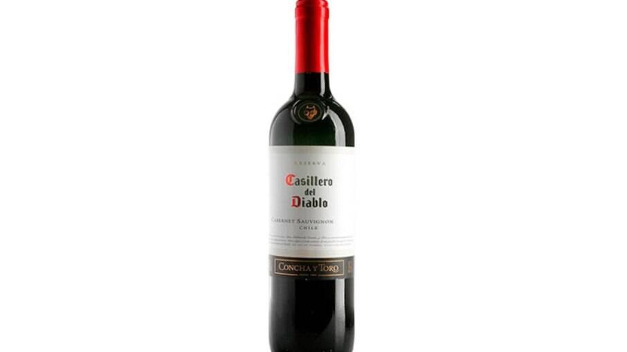 Vinho chileno Casillero del Diablo