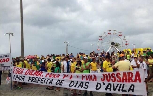 protestos fora dilma 12 de abril bahia