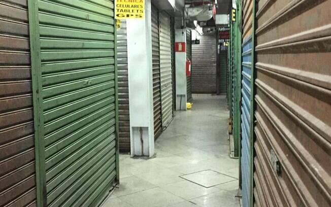 lojas fechadas